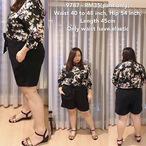 9787 *Ready Stock*Waist 40 to 48 inch/ 101-121cm