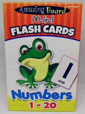FC06-FLASHCARD NUMBER WITH MARKER