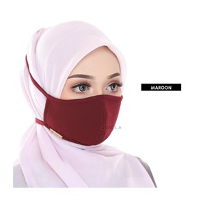 FACEMASK - MAROON