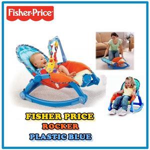 Fisher Price Rocker Plastic Blue