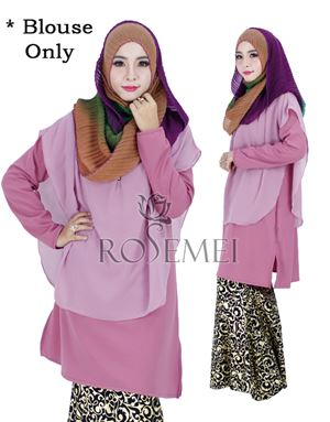 BELLA LONG TUNIC - SOFT PURPLE