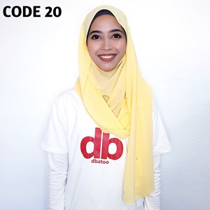 Shawl Pantas Dbatoo Code 20