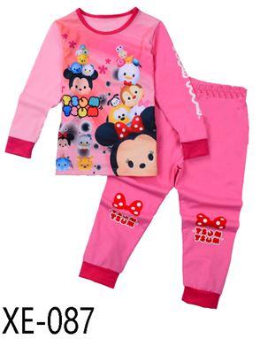 XE-087 'Disney Tsum Tsum' Pyjama (2 - 7 tahun)