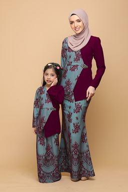 DEWI MULBERRY / TURQUOISE (KIDS)