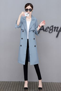 Windbreaker Long Coat