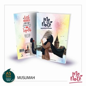 BUKU NOTA #MeNote Design Muslimah