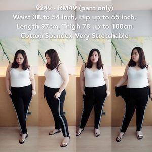 9249 Ready Stock *Waist 38 to 54 inch/ 97-137cm