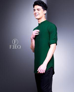 KURTA FEEQ 2019 - EMERALD GREEN