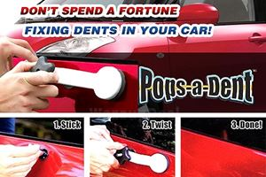 Pops-A-Dent Paintless Dent Removal Car Repair Kit Tool