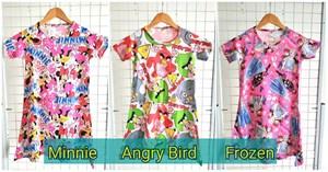 Dress Minnie/ Frozen/ Angry Bird ( big size 8-14)