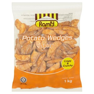 Ramly Potato Wedges  1kg