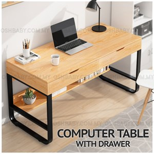 COMPUTER TABLE WITH DRAWER