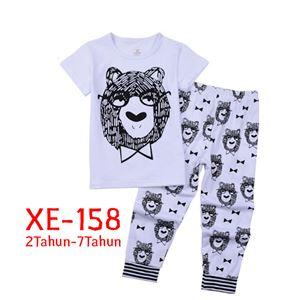 CALUBY XE-158 Kids Pyjama (2-7 tahun)