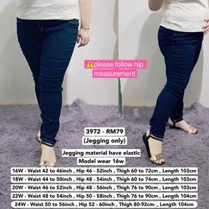 3972   *Waist 42 to 60 inch/ 107-152cm