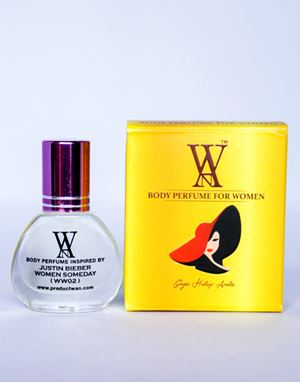 WAN BODY PERFUME - (WW02) JUSTIN BIEBER WOMEN SOMEDAY