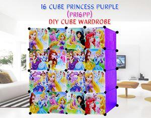 PRINCESS PURPLE 16C DIY WARDROBE (PR16PP)