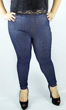 LX838 -Cotton Jean Jegging-* Hips 95-128cm