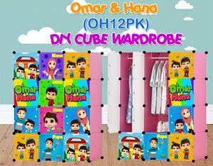 Omar & Hana PINK 12C DIY WARDROBE (OH12PK)