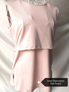 Sleeveless Nursing Inner (Dull Peach)