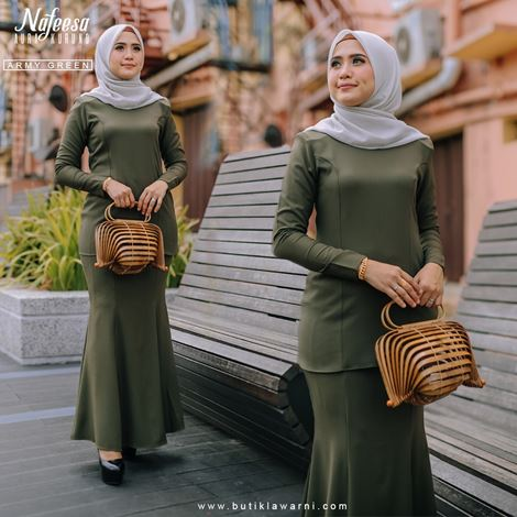 AURA KURUNG ARMY GREEN