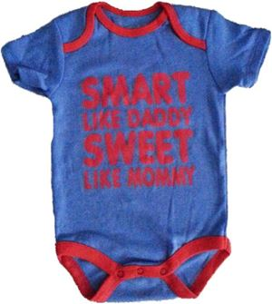 Wording Rompers - Smart Like Daddy