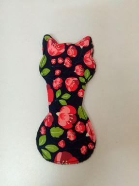 Panty liner kitty floral
