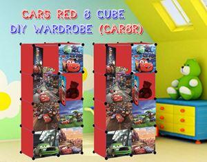 CARS RED 8C DIY WARDROBE (CAR8R)