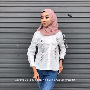 AUSTINA EMBROIDERY BLOUSE