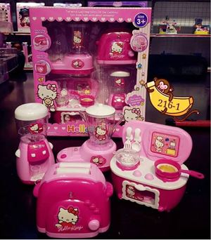 @  HELLO  KITTY TOYS WITH LIGHT/SOUND ( SET A )