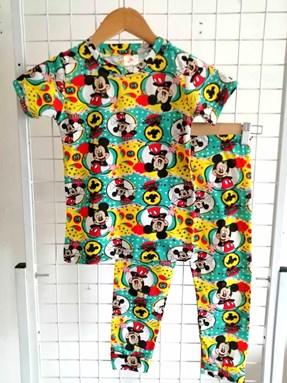 Size 13/14 only Pyjamas JR MICKEY GOSH :  Big Kids