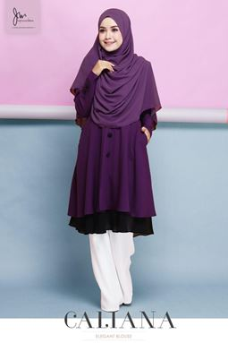 BLOUSE CALIANA 3.0 ( Dark Purple )