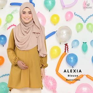 Alexia Blouse : Mustard Yellow