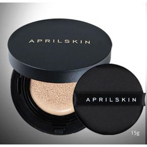 APRIL SKIN Magic Snow Cushion Black 15g SPF 50+ / PA+++