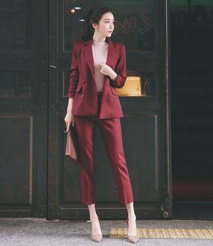 Professional dress temperament suit OL two sets