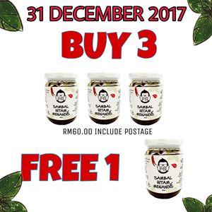 BUY 3 FREE 1 (31 December 2017)