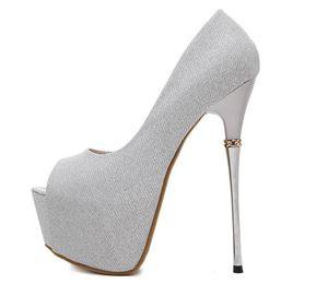 Shoe 2763 Black | Silver