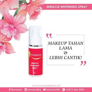 NURRAYSA Miracle Whitening Spray