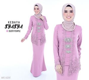 BAJU KEBAYA SYASYA DUSTY PURPLE