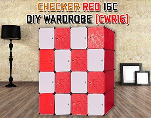 CHECKER 16C DIY WARDROBE (CWR16)