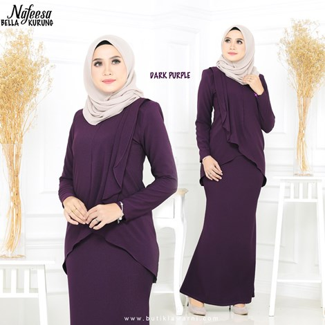 NAFEESA BELLA DARK PURPLE