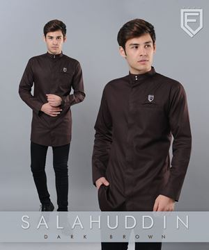 kurta salahudin DARK BROWN