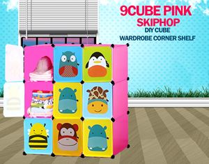 Skiphop Pink 9C DIY Cube (SK9P)