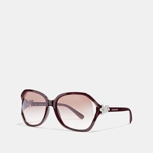 COACH Integration Flower Sunglasses