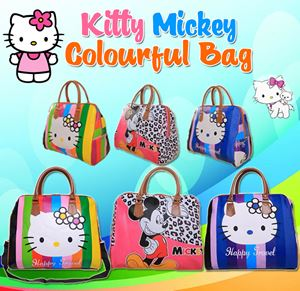 Kitty Mickey Colourful Bag