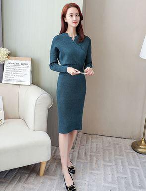 Woolen Sweater Dress