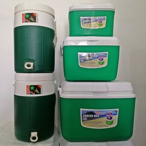 SET COOLER PORTA 5PCS  - GREEN
