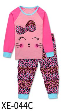 XE-044C 'Cat' KIDS PYJAMAS (2T-7T)