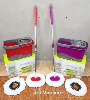 STAINLESS STEEL MOP -  DOUBLE COLOUR MOP