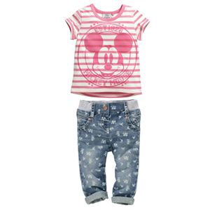 Mickey Mouse Pink Set
