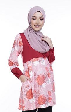 Ella Misaki (QM112)  Blouse - Only Size 2XL available